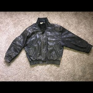 Marc New York men's leather jacket